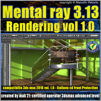 Mental Ray 3.13 In 3ds max 2016 Vol.1 Rendering Cd front