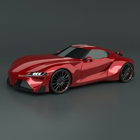 Toyota FT1 concept redesign