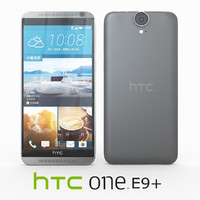 3d htc e9 meteor gray model