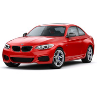 3d model bmw m235i coupe 2015
