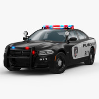 3ds max dodge charger 2015 police