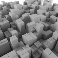 3d model scape cityscape city