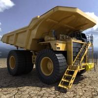maya mining truck