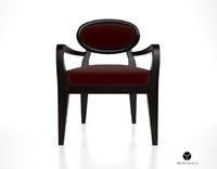 3ds max promemoria amina dining chair