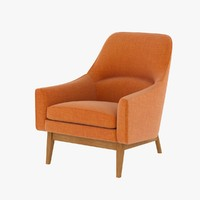 chair ralph pucci jens 3d model