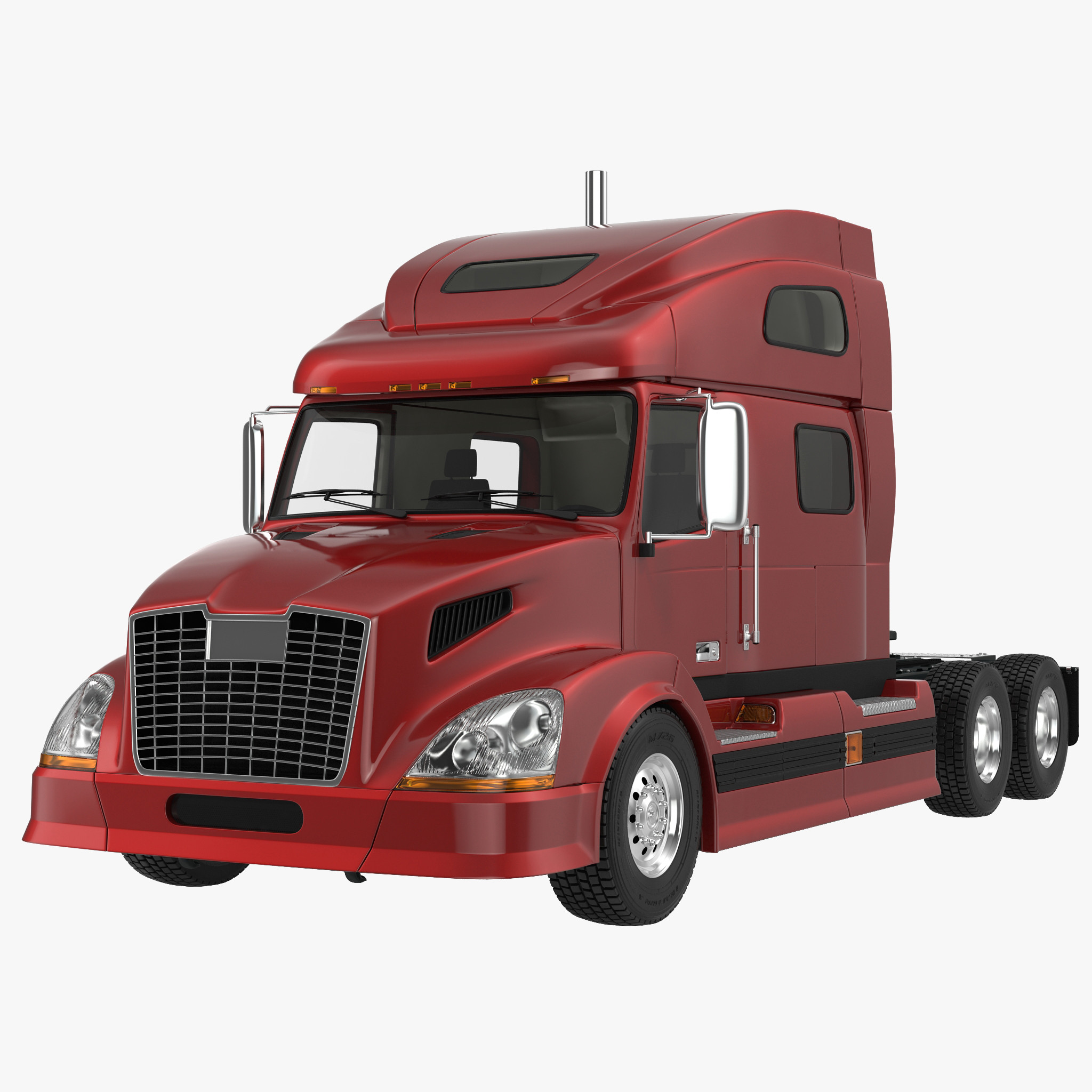 Semi Trailer Truck 3d model 01.jpg