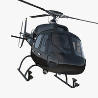 Eurocopter AS355 3D models