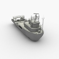 anchor tug supply 3d max