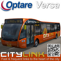 3d optare versa bus citylink model