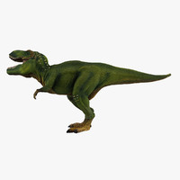 t-rex animation 3d 3ds