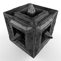 3d model object sci fi