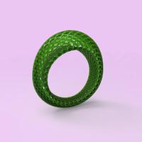 free geometrical ring 3d model