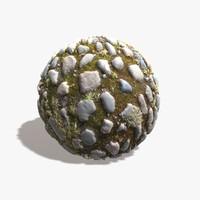 Mossy Cobblestones Texture