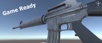 maya rifle m16