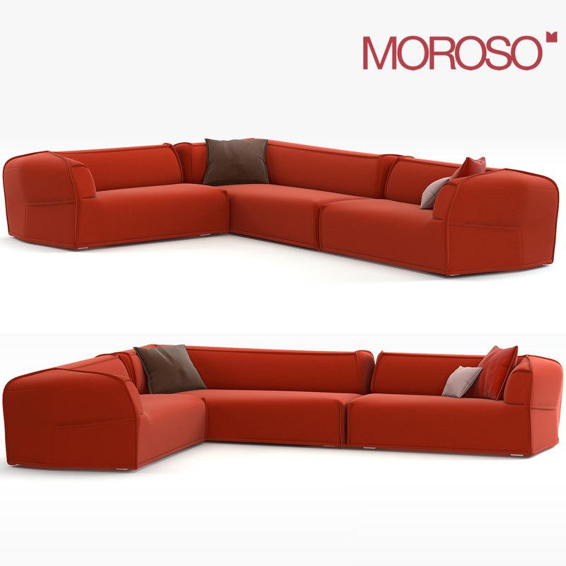 Max Modern Sofa Moroso M S