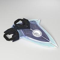 - hand blades 1 max