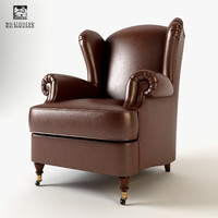 3ds max armchair cava