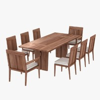 maya table chairs sand dollar
