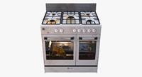 3dsmax gas stove
