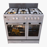 gas stove 3d 3ds