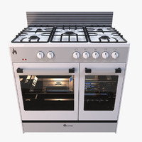 3d gas stove model