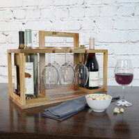 3d model of decorative wine set