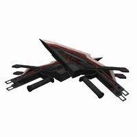 3d - hand blades 3