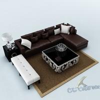 sofa set 3ds