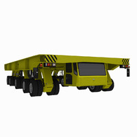 Shipyard Transporter 1 - Flatbed Vehicle
