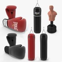 3d model boxing 1