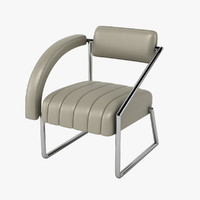 eileen gray non-conformist chair 3d model