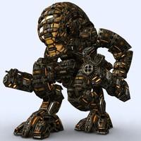 mech robots - 3d 3ds