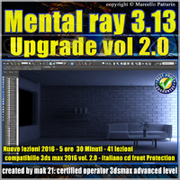 Mental Ray 3.13 3ds max 2016 Vol.2 Upgrade cd front