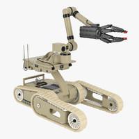 3d model irobot robot