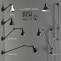 3d model sconces la lampe gras