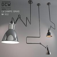 3ds max modern chandelier la lampe