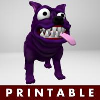 maya printable dog