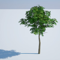 gaming tree 3d model