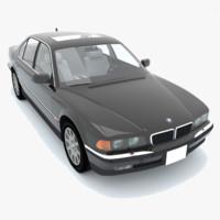 3dsmax bmw 750i e38 1998
