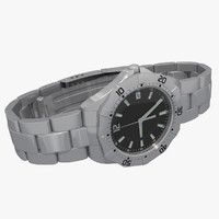 watch wristwatch 3d max