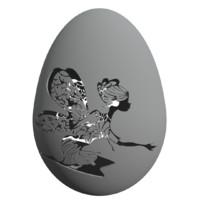 easter egg 3d model