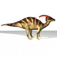 maya parasaurolophus dinosaur