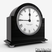 shelf clock 3d model