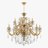 3d chandelier 788152 lusso osgona