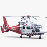max eurocopter 365 n3 air ambulance