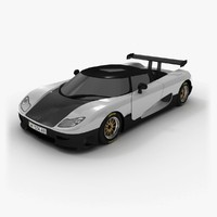 koenigsegg 2006 3d model