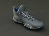 3d obj sports shoes