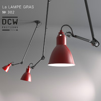 3d model chandelier la lampe gras
