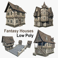Fantasy Houses Set 01