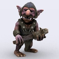 goblins warriors - 3d model